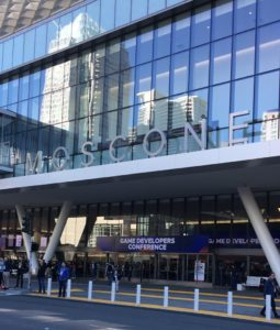 Moscone Center Outside